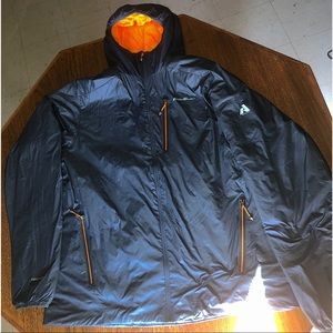 Eddie Bauer Men's Mt Evertherm Hooded Jacket TXL